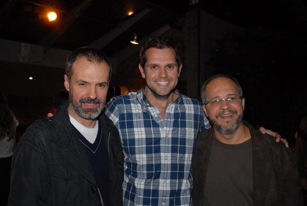 Ricardo Waddington , Leonardo Nogueira e Emanuel Jacobina