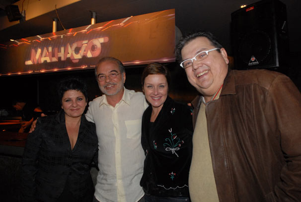 Cris Nicolotti , Genezio de Barros , Gisela Reimann e Marcio Ribeiro