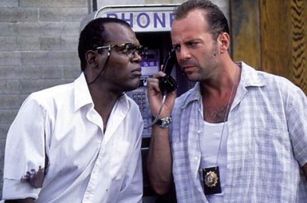 Samuel L. Jackson  e Bruce Willis vivem dupla improvável em  Duro de Matar 3
