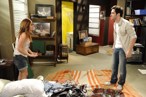 Paula discute com Tom