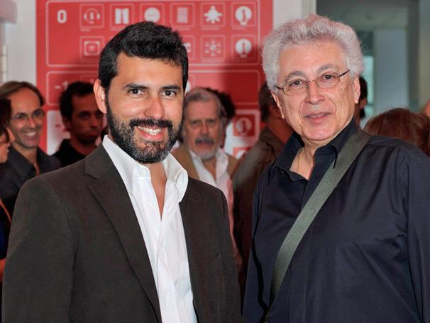 Aguinaldo Silva e Pedro Lopes, autor de Laços de Sangue