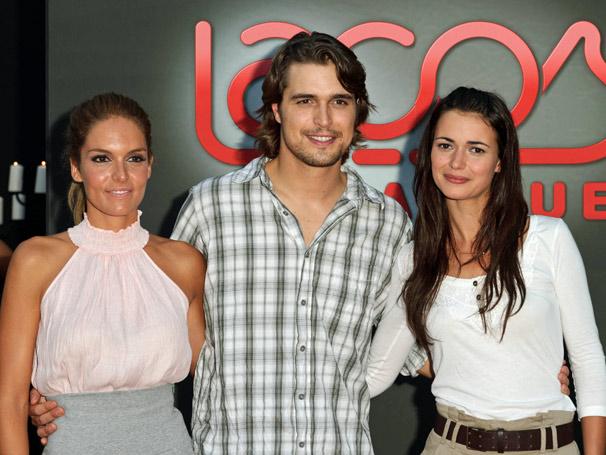 Diana Chaves, Diogo Morgado e Joana Santos, protagonistas da novela