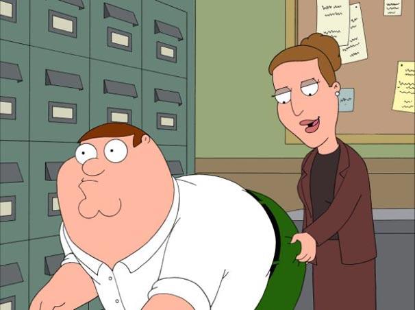 Peter é assediado pela chefe no trabalho
