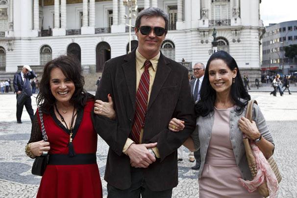 Regina Duarte, Dalton Vigh e Sônia Braga