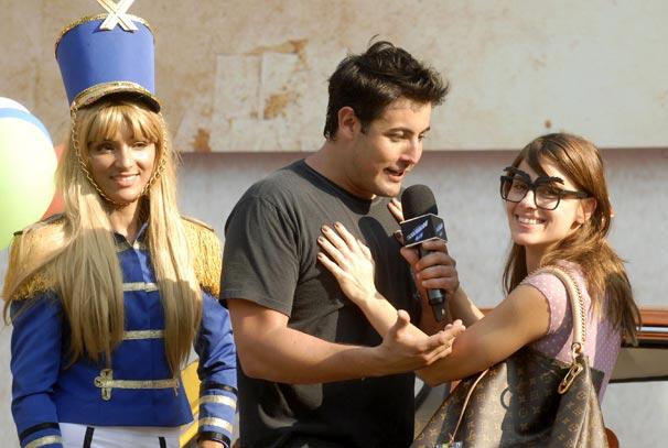 Bruno de Luca prepara surpresa para Carolina Dieckmann no Vídeo Show desta quinta-feira