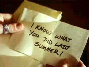 Eu sei o que vocês fizeram no verão passado
