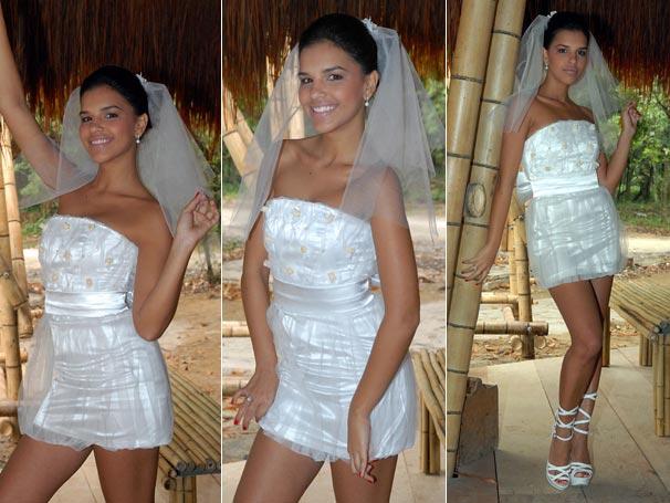 Mariana Rios se veste de noiva para interpretar Nancy, em Araguaia