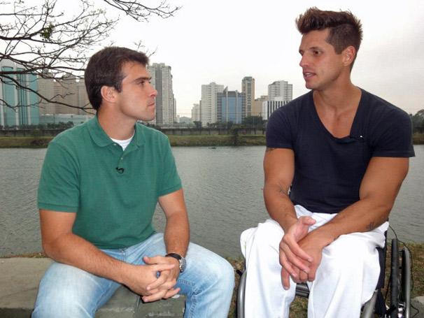 Fernando Fernandes fala sobre seu amor pelo esporte