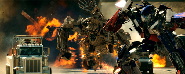 'Transformers' mostra a guerra entre os robôs