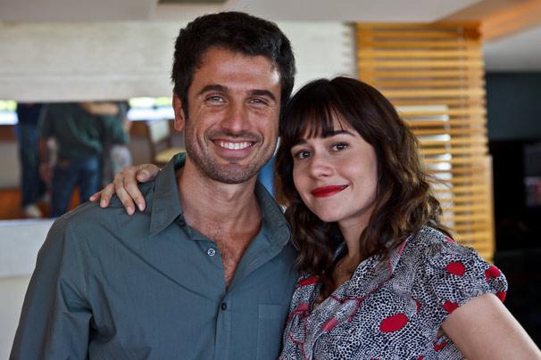Eriberto Leão e Alessandra Negrini