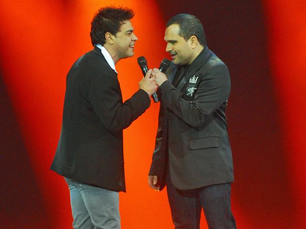 Caldeirão do Huck mostra show de Zezé di Camargo e Luciano