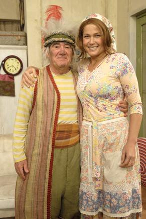 Xuxa vive uma moça pobre, casa com Didi (Renato Aragão)