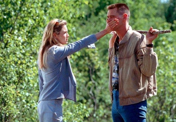Charlie (Jim Carrey) se apaixona por Irene
