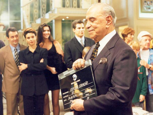 No dia 2 de outubro de 1995, Roberto Marinho inaugurou o estúdio de Explode Coração