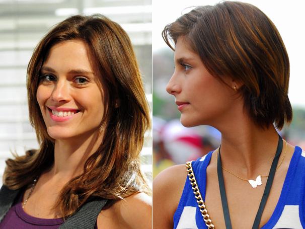 Em setembro, Diana (Carolina Dieckmann) e Lorena (Tammy Di Calafiori) são donas dos cabelos mais desejados de Passione