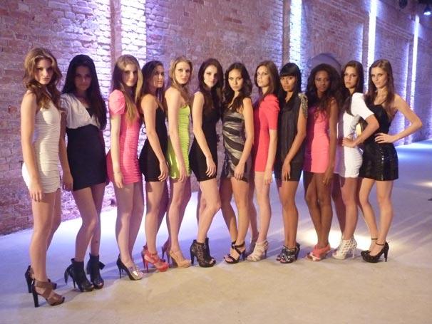 Finalistas do concurso Menina Fantástica