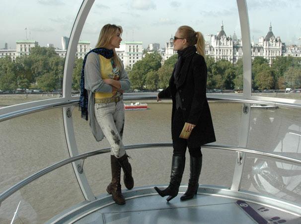 Angélica encontra Fernanda Lima em Londres