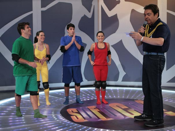 Adriana Birolli, Geovanna Tominaga, Raoni Carneiro e Marco Antonio Gimenez participam da segunda temporada do quadro Sufoco