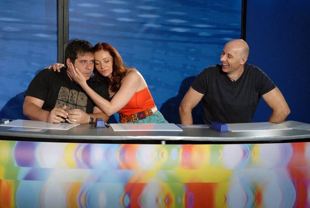 Leandro Hassum, Alexandra Richter e Tande