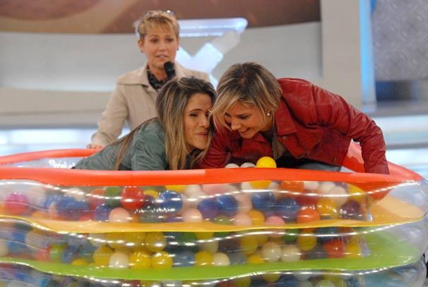 Ingrid Guimarães e Heloisa Perissé participam do quadro Tempo de Baixinho