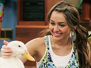 Miley fica nervosa ao fazer teste para dublar um pato em desenho