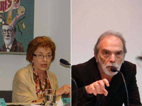 Eva Jonathan e Joel Birman