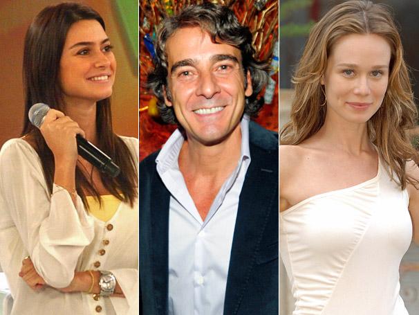 Mariana Ximenes, Alexandre Borges e Thaila Ayala respondem perguntas dos atores de Clandestinos