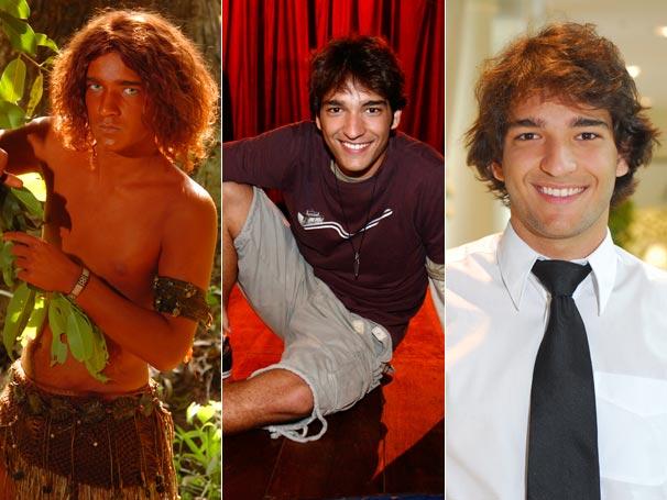 Humberto Carrão participou do Sítio do Pica-Pau Amarelo como o Caipora, viveu o Caio em Malhação (2009) e, hoje, faz sucesso como o Luti de Ti-ti-ti
