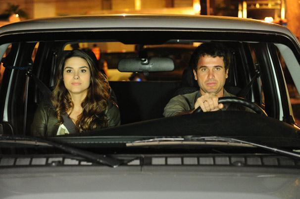 Fernanda Machado e Eriberto Leão