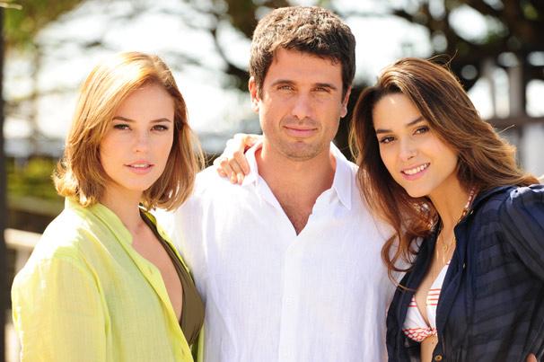 Paola Oliveira, Eriberto Leão e Fernanda Machado