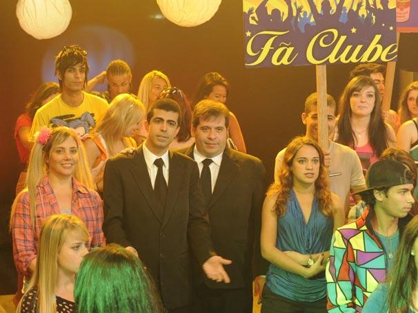 Heloísa Périssé volta a interpretar a adolescente Tati no programa deste domingo