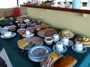 O café da manhã de Lilian Rengel