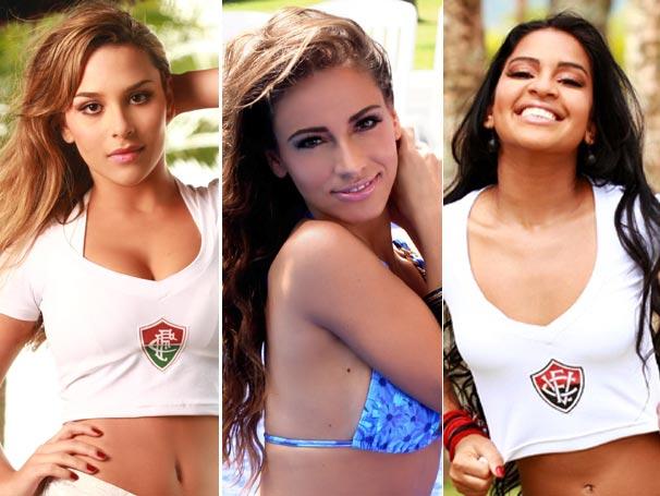 Finalistas Musas do Brasileirão