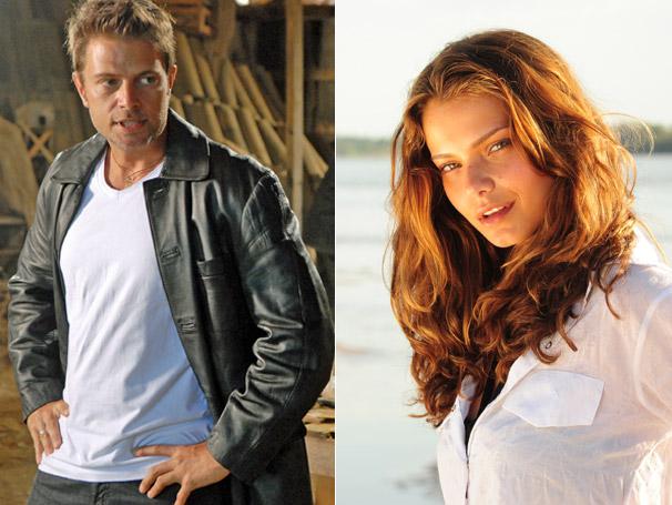 O perigoso Hector (Pablo Belini) planeja sequestrar Manuela (Milena Toscano)