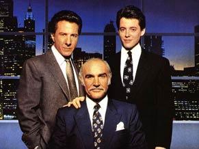 Mathew Broderich, Dustin Hoffman e Sean Connery estão juntos em 'Negócio de Família'