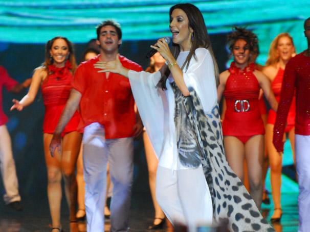 Ivete Sangalo anima o Show da Virada