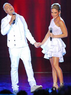 Mistura de rítmos marcam o encontro de Belo e Cláudia Leitte no Show da Virada