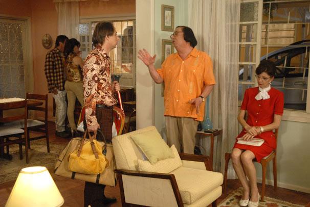 Beiçola (Marcos Oliveira), Abigail (Marcia Manfredini), Paulão (Evandro Mesquita), Vanessa (Paula Cohen) e Agostinho (Pedro Cardoso)