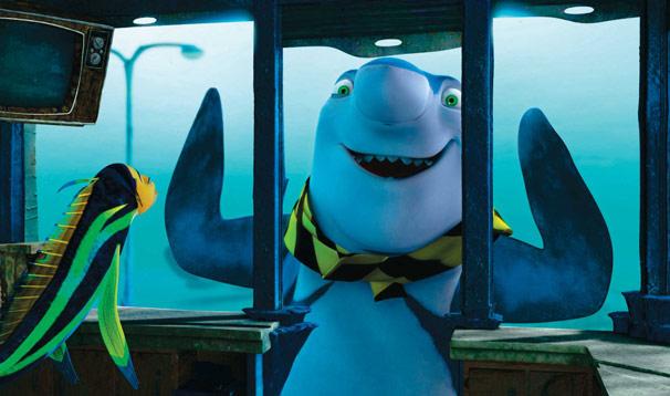Oscar faz amizade com Lenny, um tubarão vegetariano