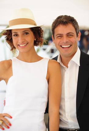 Camila Pitanga e Luigi Baricelli