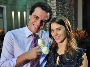 Mauro (Rodrigo Lombardi) e Diana (Carolina Dieckmann)