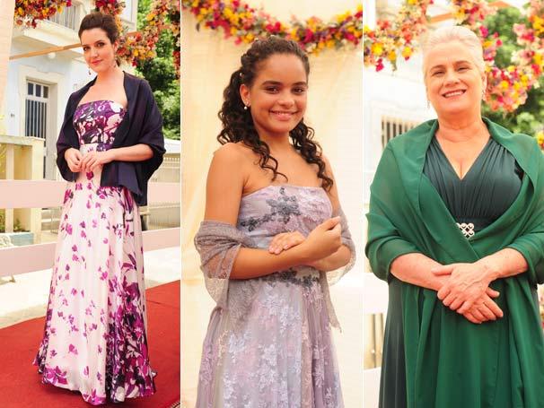 Felícia, Kelly e Candê também estão presentes na cerimônia