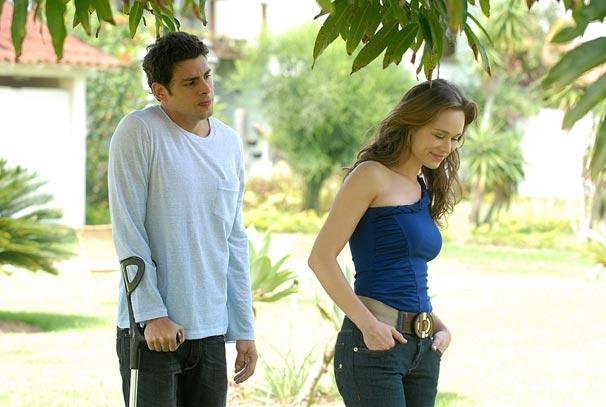 Danilo (Cauã Reymond) e Clara (Mariana Ximenes)
