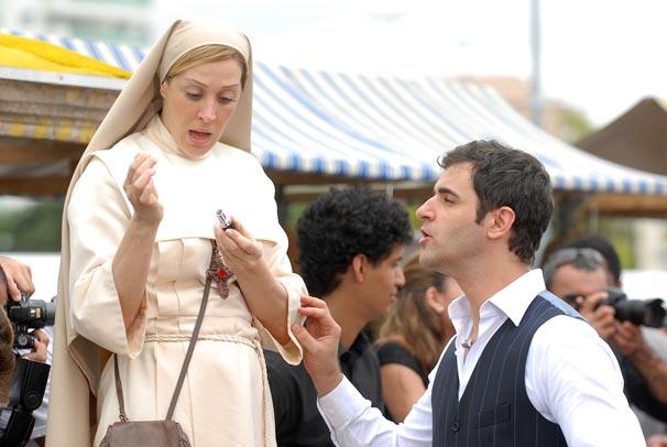 Vestida de freira, Claudia Raia