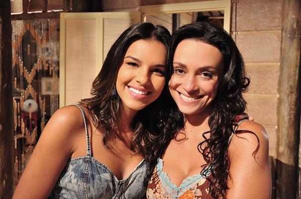 Nancy (Mariana Rios) e Janaína (Suzana Pires): a irmã mais nova traiu a confiança e mentiu para a mais velha
