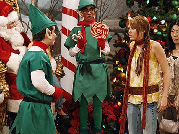 Não perca o capítulo especial de Natal de Hannah Montana, neste sábado, 25