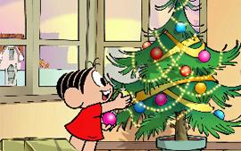 turma da mônica um lindo natal
