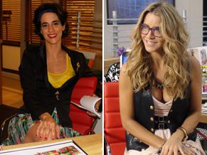 Mariana Lima e Christine Fernandes vivem Luciana e Paula