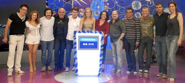 Angélica recebe Fernanda Souza, Emílio Orciollo Netto, Maria Clara Gueiros, Marcius Melhem, Regina Duarte e o grupo Roupa Nova