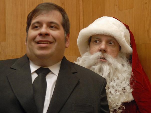 Jorginho (Leandro Hassum) procura árvore de Natal
